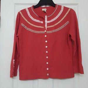 Anthro Odille Cardigan Sweater